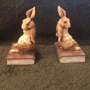 Other - Adorable Rabbit Bookends